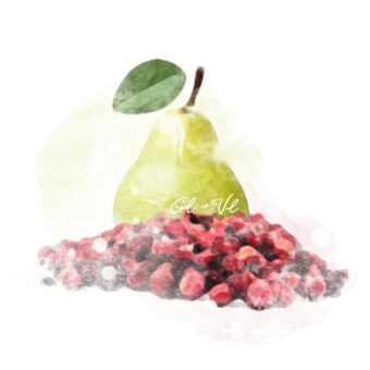 cranberry pear
