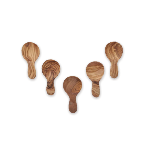 Olive Wood Mini Round Scoop