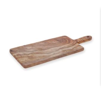 Olive-Wood Paddle Serving Board
